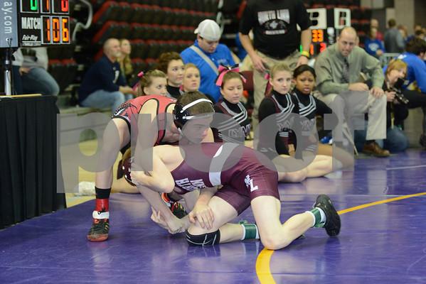 State Tournament 1A SF 106-145