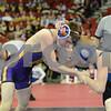 2014 Iowa High School Athletic Association State Championships <br /> 113<br /> Semifinal - Zach Fowler (Alburnett) 43-5 won by decision over Jack Walker (Wapello) 25-10 (Dec 2-1)
