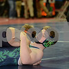 2014 Iowa High School Athletic Association State Tournament Class 1A Session I <br /> 120<br /> Champ. Round 1 - Jacob Krakow (Iowa Valley, Marengo) 41-9 won by major decision over Zach Andrews (Belmond-Klemme) 30-10 (MD 18-5)