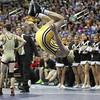 2014 Iowa High School State Finals Class 2A<br /> 2A-113<br /> 1st Place Match - Brock Rathbun (Center Point-Urbana) 46-0 won by fall over Ryan Leisure (Clear Lake) 37-4 (Fall 4:48)