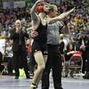 2014 Iowa High School State Finals Class 2A<br /> 2A-145<br /> 1st Place Match - Zach Skopec (Spirit Lake Park) 49-0 won by decision over Chase Shiltz (Creston-Orient Macksburg) 51-5 (Dec 5-2)