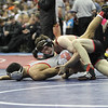 2014 Iowa High School State Finals Class 2A<br /> 2A-132<br /> 1st Place Match - Eric Clarke (Assumption, Davenport) 31-10 won by major decision over Oscar Ramirez (Estherville Lincoln Central) 43-2 (MD 10-2)