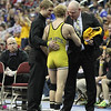 2014 Iowa High School State Finals Class 2A<br /> 2A-126<br /> 1st Place Match - Darrian Schwenke (Atlantic) 52-1 won by decision over Brady Jennings (Osage) 43-4 (Dec 5-3)