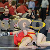 2014 Iowa High School Athletic Association State Tournament Class 2A<br /> 113<br /> Semifinal - Brock Rathbun (Center Point-Urbana) 46-0 won by tech fall over Brady Kyner (Carlisle) 35-5 (TF-1.5 3:12 (15-0))