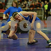 2014 Iowa High School Athletic Association State Tournament Class 2A<br /> 106<br /> Semifinal - Tristan Birt (Wahlert, Dubuque) 42-4 won by major decision over Josh Keller (Columbus Community, Columbus Junction) 39-8 (MD 8-0)