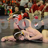 2014 Iowa High School Athletic Association State Tournament Class 2A<br /> 120<br /> Semifinal - Brendan Gould (Assumption, Davenport) 37-6 won by decision over Dillion Cox (Atlantic) 50-6 (Dec 2-0)
