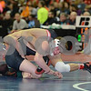 2014 Iowa High School Athletic Association State Championships Class 2A<br /> 132 - Champ. Round 1 - Trevor Harsh (Adm, Adel) 39-15 won by decision over Connor Wickman (West Delaware, Manchester) 29-15 (Dec 1-0)