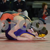 2014 Iowa High School Athletic Association State Championships Class 2A<br /> 120 - Cons. Round 1 - Mason Buster (Mediapolis) 41-13 won by fall over Freddie Seeley (Webster City) 33-21 (Fall 1:24)