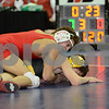 2014 Iowa High School State Finals Class 3A<br /> 3A-120<br /> 1st Place Match - Alijah Jeffery (Linn-Mar, Marion) 41-0 won by decision over Paul Glynn (Bettendorf) 39-12 (Dec 7-0)