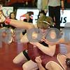 2014 Iowa High School Athletic Association State Tournament Class 3A <br /> 152<br /> Quarterfinal - Trey Blaha (Prairie, Cedar Rapids) 39-11 won by fall over Nate Luna (Des Moines, Lincoln) 34-10 (Fall 3:24)