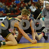 2014 Iowa High School Athletic Association State Championships Class 3A<br /> 106<br /> Semifinal - Jack Wagner (Bettendorf) 44-4 won by decision over Triston Lara (Fort Dodge) 43-5 (Dec 7-1)