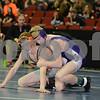 2014 Iowa High School Athletic Association State Tournament Session I 3A<br /> 120  Champ. Round 1 - Sam Uthoff (Prairie, Cedar Rapids) 39-11 won by fall over Camiran Sadeghi (Keokuk) 27-7 (Fall 5:54)