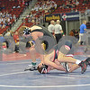 2013 Iowa High School State Individual Tournament - 3A <br /> 1st Round Consolation - 106 Erik Birnbaum (Ft. Dodge) dec Chase Evans (Glenwood) 6-0