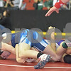 2013 Iowa High School State Individual Tournament - 3A <br /> 1st Round Consolation - 132 - Chris Grow (Waukee) Fall Christian Foote (Pleasant Valley) 5:10