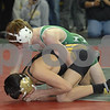 2013 Iowa High School State Individual Tournament - 2A <br /> 1st Round  - 113 - Chris Hanke (Osage) dec MAson Miller (Winterset) 1-0