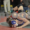 2013 Iowa High School State Individual Tournament - 2A <br /> 1st Round  - 120 - Leighton Gaul (New Hampton) Maj dec Zach Underhill (East Marshall GM) 12-0