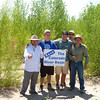 Rockies Researchers with ProNatura at one of their restoration sites in the Colorado River Delta