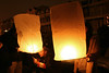 """sky lanterns"" on new years eve"