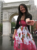 namiko in washington square park, nyc