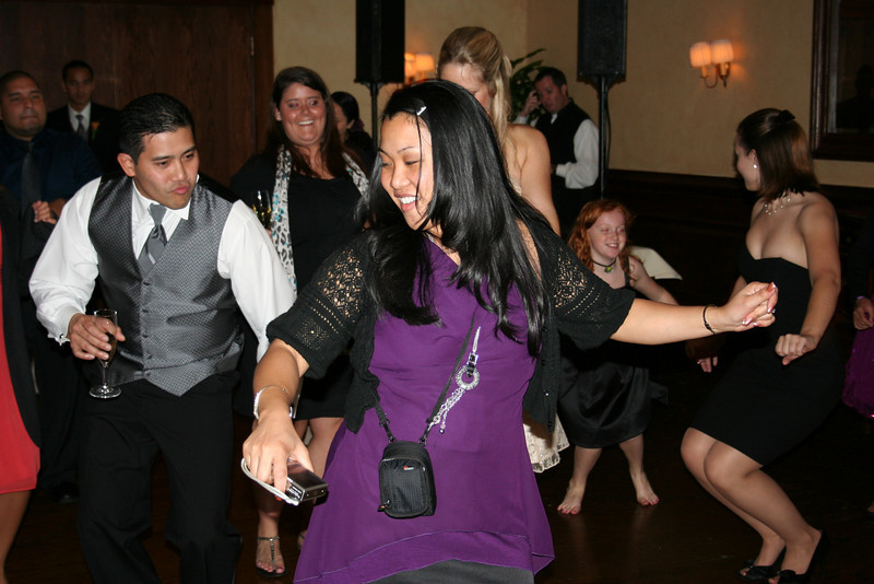 dancin' at julie's wedding