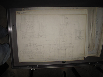 steam hammer foundation plans