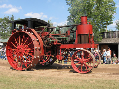 Steam tractor show 2009