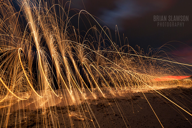 Steel wool photography by Brian Slawson