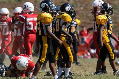 Steelers Vs Oak Ridge Popwarner game PW, Jr.M, Midget