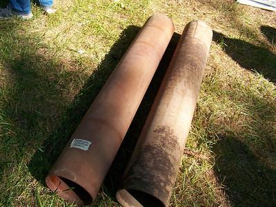 Need any old fiberglass tubes cheap?