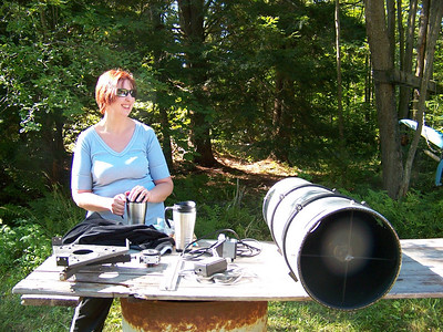 10 inch f-4.5 aluminum tube with Meade mirrors only $ 150.