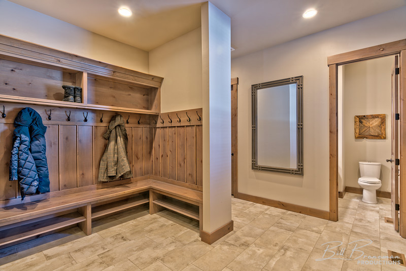 Coat Room and Bathroom