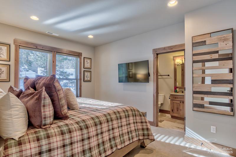 Bedroom and Partial Bathroom