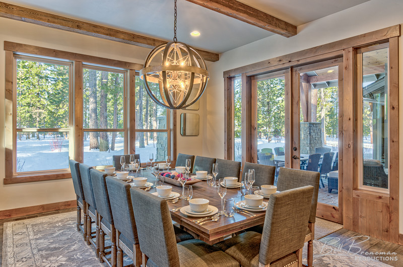 Dining Room and Patio