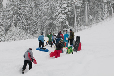Winter Fun at Stevens Pass