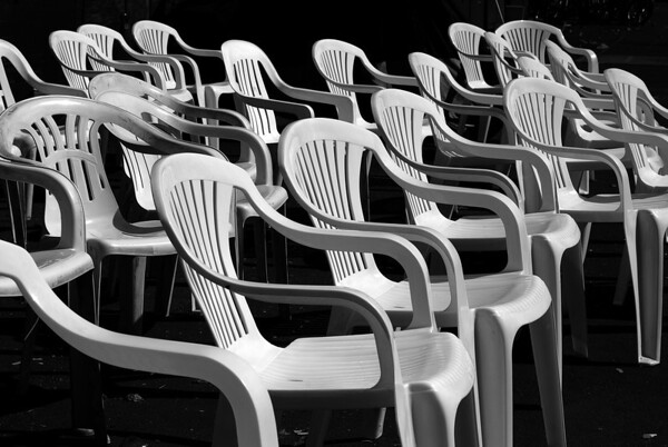 Chairs in B&W