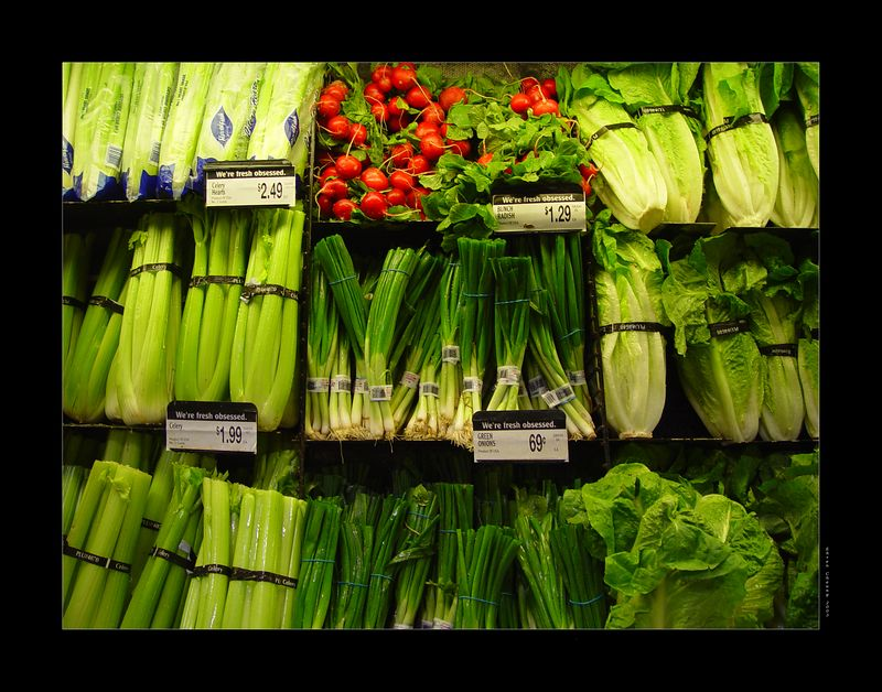 Veggie Tales - Not the actual title, and not an actual tribute but when you end up taking photographs of the vegetables in a grocery store...you are bound to receive countless bewildered looks...<br /> <br /> On another note:  No vegetable received any aesthetic alterations.