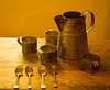 Pewterware made and used by the Amana Colonies, Amana, IA