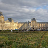 Louvre From the Park