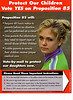<b>Yes on Proposition 85 back</b><br>