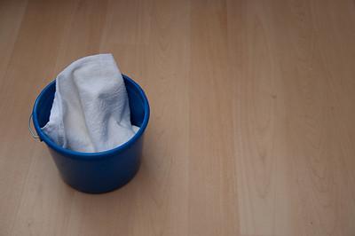 GJ1_Cleaning Bucket on Floor