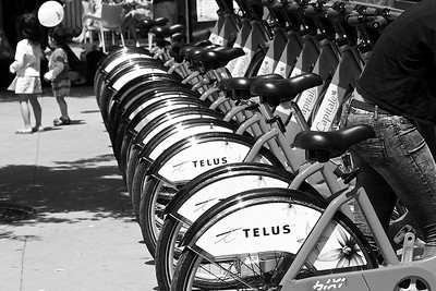Vélos Bixi, Marché By Bixis at By Ward Market