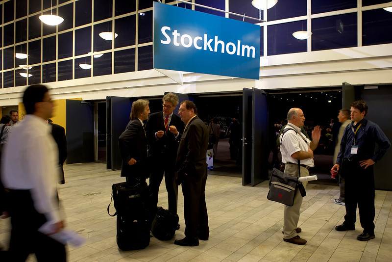 Stockholm, Sweden - ESC 2005 - General Views here today, Wednesday September 7, 2005 at the European Cardiology Society's annual Congress in Stockholm. Photo by © MMG/Todd Buchanan 2005 Technical Questions: todd@toddbuchanan.com; Phone: 612-226-5154.