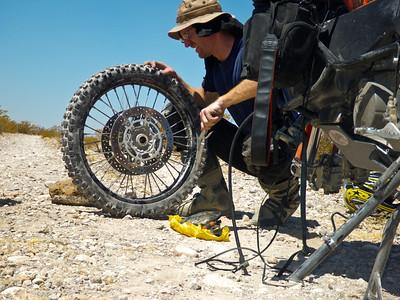 stolen KTM wheels