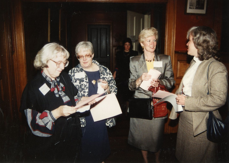 Barbara Hill and friends