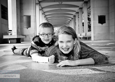Sib in Muny bw (1 of 1)