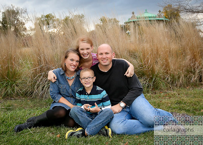 Family in the Tall, Tall Grass, Crop  (1 of 1)