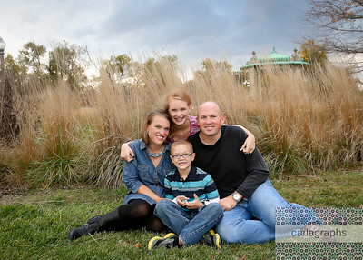 Family in the Tall, Tall Grass (1 of 1)