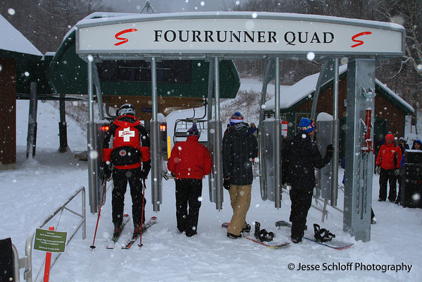 The FourRunner Quad on Opening Day, Winter 2011-2012
