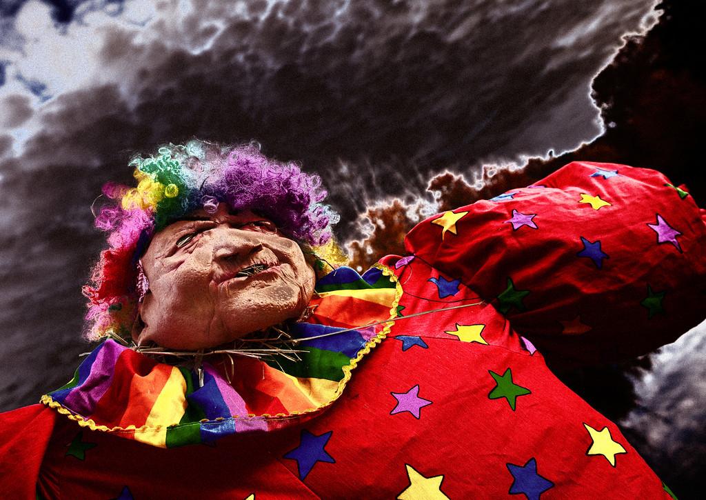 Scarecrow Meets Evil Clown