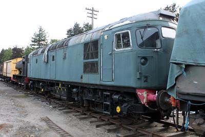 Class 26 26002 Boat of Garten, Strathspey Railway 25/06/11.